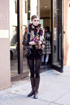 street chick, fall boots