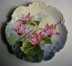 Antique hand painted Limoges porcelain dish by Frenchpleasures
