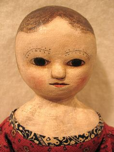 What would Izannah Walker's childhood doll look like?