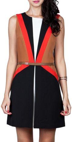 Ark & Co. Colorblock Dress