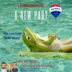 Relocating to Tampa Area? Let us find you your new Florida Home!