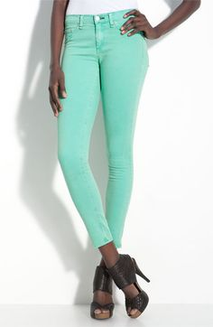 rag & bone Stretch Denim Leggings Vin Biscay