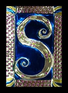 Illuminated Monograms on Foil - Artsonia Lesson Plan