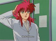 Yu Yu Hakusho yyh Kurama bringing the sass since 1992 Anime Nerd, All Anime, Yu Yu Hakusho Anime, Fox Boy, Japanese Animated Movies, Pokemon, Ghost In The Shell, Neon Genesis Evangelion, Manga Games