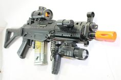 Double Eagle M82P Full & Semi Automatic Airsoft Assault Rifle Laser Sig 552  #DoubleEagle