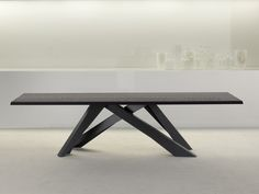 MESA RECTANGULAR BIG TABLE BY BONALDO | DISEÑO ALAIN GILLES