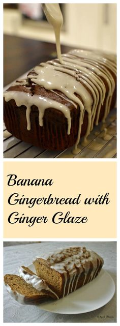 Banana Gingerbread w