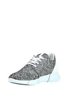 Chiara Ferragni Damen Cf1897 Silber PVC Slip on Sneakers OacnvBSyNg