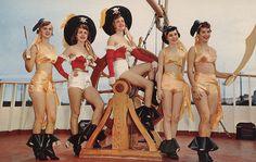 1950s, Gasparilla Pirate Festival - Tampa, Florida
