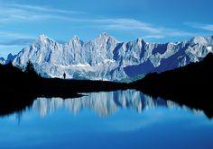 Wandern Dachstein dem höchsten Bergmassiv der Steiermark und Oberösterreich: www.hikeandbike.de
