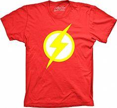 Camiseta Flash - Se você quer essa Camiseta do Flash seja rápido como ele, por que senão elas vão sair correndo por aí!