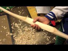 Building a Hazelnut Flatbow Part 2  Der Bau eines Haselnussflachbogens - YouTube