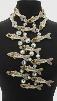 Necklace | Kinga Nichols ~ Crimson Frog Designs (This is incredible-SG)