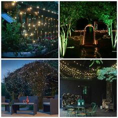 WINTER SALE! Use Promo Code: PINDISCT for an exclusive discount for Pinterest users!  Amazon.com : Solar String Lights By Firstlights 100 LED Warm White - No Batteries - Waterproof - Free EBook - Great for patios and outdoor home lighting!