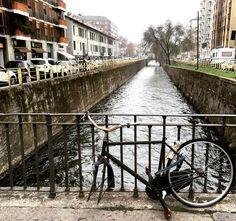 #milan #milano #milanodaclick #milanodavedere #igersmilano #milanocity #milaneseimbruttito #bicicletta #bycicle #wheel #river #navigli #expo2015 #nofilter #instacolors #igeraddict #grey #traveling #travelling #iglombardia #igers #igmilano #italy #italia by teseo_85