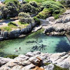 Did you know? Not only is Hermanus, South Africa, this beautiful -- it's famous for whale watching during the southern winter!
