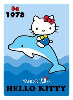 Hello Kitty x Yahoo e-cards 1978