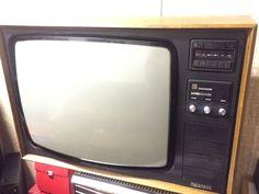 """Vintage 26"""" Pye Colour Television"""