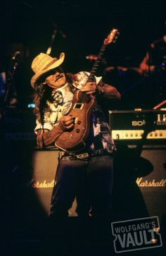 Photo of the Day - 5/17/2012. Dickey Betts of the Allman Brothers Band Fine Art Concert Photo Print @ Warfield Theatre (San Francisco, CA) May 17, 1994. Photo taken by Joe Sia.    http://www.wolfgangsvault.com/dickey-betts/photography/fine-art-print/WAR940517-01.html