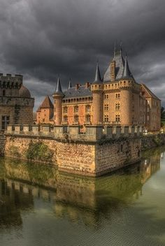 Castle of La Clayette, Burgundy, France