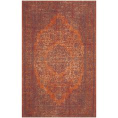 Safavieh Classic Vintage Red Cotton Rug (5' x 8') - Overstock Shopping - Great Deals on Safavieh 5x8 - 6x9 Rugs