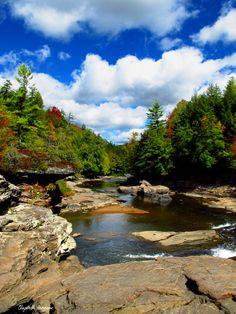 Swallow Falls State Park, Garrett County, Maryland.