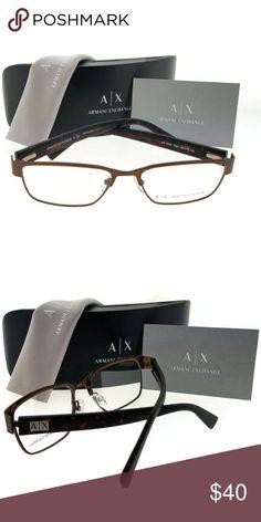 Ax1020-6091-54 Armani Exchange Eyeglasses Armani Exchange AX1020-6091-54 Men&#39... Armani Exchange Sunglasses, Mens Glasses, Dance Music, Street Chic, Eyeglasses, Fashion Forward, Sunglasses Case, Personal Style, Lens