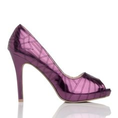 Oh god, I have nothing that these would go with and the heel is impossibly high...but I want want want these shoes!