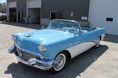 eBay: Buick: Special Convertible 1956 blue white restored rebuilt convertible collector car great… #classiccars #cars usdeals.rssdata.net