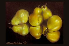 Ripe Point of View Alyona Nickelsen = coloured pencil art Colored Pencil Artwork, Coloured Pencils, Color Pencil Art, Color Art, Fruit Painting, Pencil Painting, Painting & Drawing, Eugène Delacroix, Chalk Ink