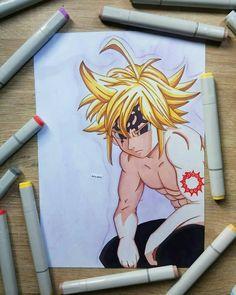 Qual dos 3 desenhos você mais gostou?😉 . Siga @desenhos_online_  Artista @alty_artz . Já viu nosso curso de desenho? Veja nosso destaque e… Chica Anime Manga, Otaku Anime, Anime Chibi, Anime Art, Naruto Sketch Drawing, Anime Sketch, Seven Deadly Sins Anime, 7 Deadly Sins, Ban Anime