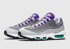 Sizes still available for the Nike Air Max 95 Grape.  http://ift.tt/1LFUV8f