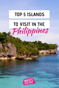 Top 5 islands to visit in the Philippines. The Philippines is the perfect destination for tropical islands and white beaches. Here are the best islands in the Philippines to travel to this year. #Travel #Philippines #Islandlife #Wanderlust #Traveller #Travelblog #Islands