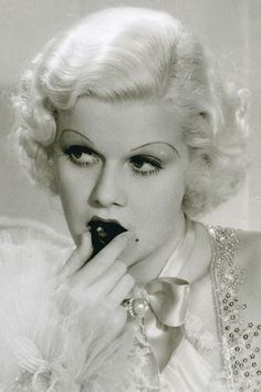 "Jean Harlow, ""Dinner at Eight"", 1933."