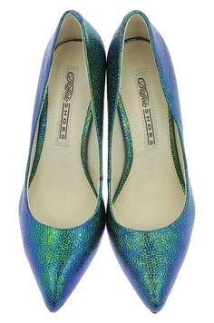 Pantofi Stiletto Gliter  - Buffalo -  Multi Snake Pumps, Heels, Buffalo, Snake, Fashion, Heel, Moda, Fashion Styles, Pumps Heels
