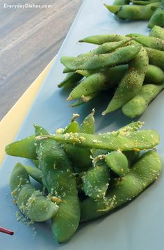 3 recipes for seasoned edamame recipe