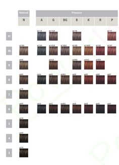 20 Best Goldwell Color Images Colour Chart Hair Dye Goldwell