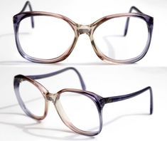 30f3b5ba6b029 cherryREVOLVER Vintage Eye Glasses 80s Womens Oversized Square Eyewear  Sweet LAVENDER Purple Eye MYSTIQUE Made in ITALY Rx