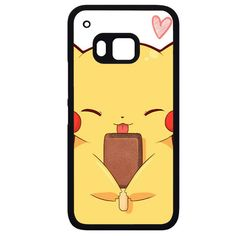 Pokemon Pikachu Touch HandphonePhonecase Cover Case For HTC One M7 HTC One M8 HTC One M9 HTC ONe X