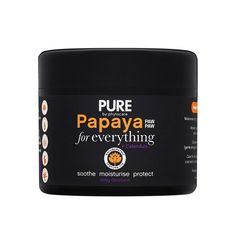 Packed with enzyme-rich papaya and soothing calendula (plus Shea butter, jojoba oil, and Vitamin E), this jack-of-all-trades formula is all natural and can be u