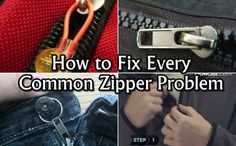 Diy Projects: How to Fix Every Common Zipper Problem