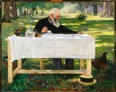 Le déjeuner sous les bois (Luncheon Under the Trees)1903Alfred Smith   Le déjeuner sous les bois (Luncheon Under the Trees)   Telfair ...