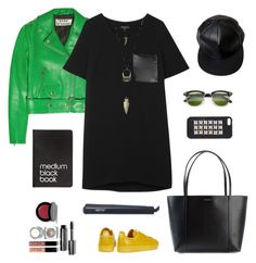 """Tee Dress"" by solespejismo on Polyvore featuring moda, Acne Studios, rag & bone, Dolce&Gabbana, adidas, Jagger Edge, Charlotte Russe, Dinks, Bobbi Brown Cosmetics y José Eber"