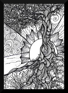 Tree Tangle - The Art Colony