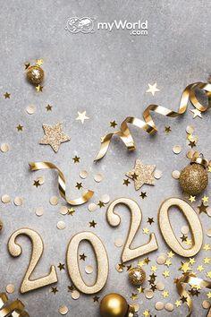 myWorld.com tim vam želi Srečno novo leto! ✨😊  Katere novoletne resolucije za 2020 pa ste vi sprejeli? 🤔 Brooch, Happy New Year, Fortune Cookie, Party Sparklers, New Years Eve Party, Brooches