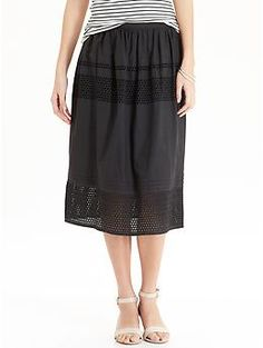 Womens Eyelet Skirts. Just bought. Good deals today