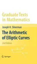 The Arithmetic of Elliptic Curves / Joseph H. Silverman. 2009.   Máis información:    http://link.springer.com/book/10.1007/978-1-4757-1920-8