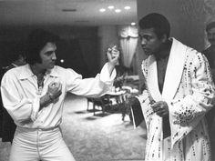 Elvis e  Muhammad Ali