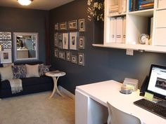 Home Office Inspiration | Bungalow Home Staging & Redesign
