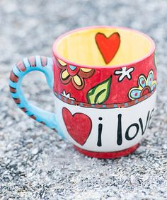 Look what I found on #zulily! 'I Love You More' Mug #zulilyfinds THIS WOULD BE A GREAT GIFT FOR MY DAUGHTER LYNDSI.